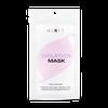 Защитная тканевая маска лилового цвета
