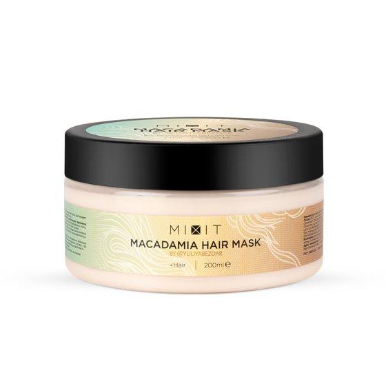 Восстанавливающая маска для волос с маслом макадамии, 200 мл