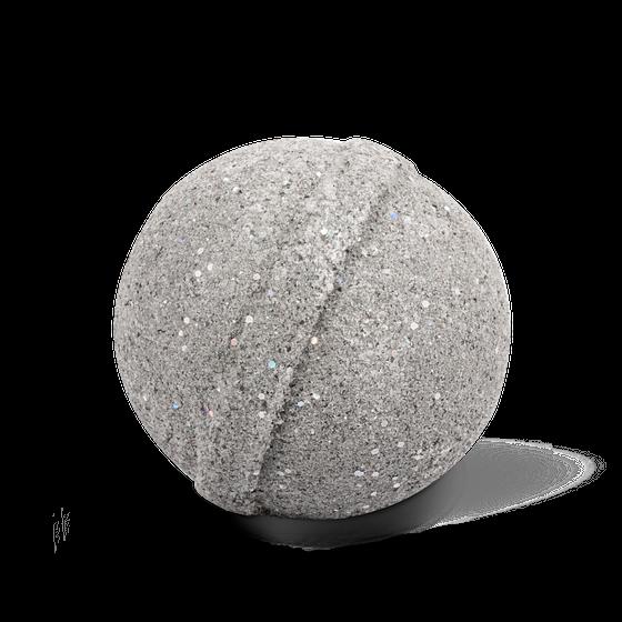 Блестящий бурлящий шар для ванны с минеральной грязью и растительными экстрактами
