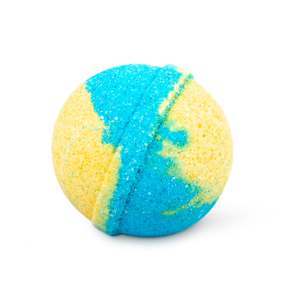 Бурлящий шар для ванны с бодрящим комплексом экстрактов