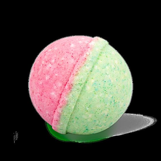 Бурлящий шар для ванны с экстрактом яблока и арбузным ароматом