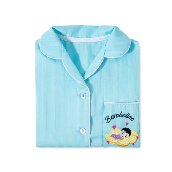 Детская пижама Bambolino, голубая 134
